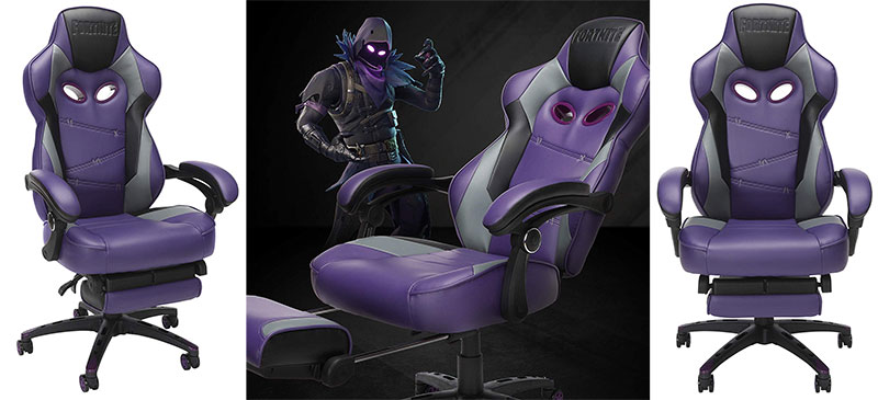 Respawn RAVEN-XI footrest gaming chair