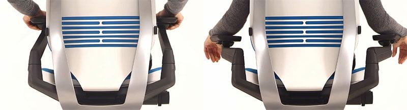 Steelcase Gesture 4D armrests