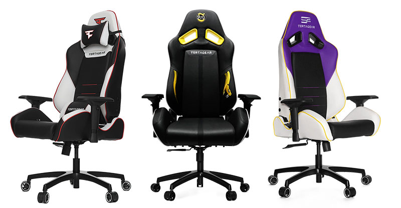 Vertagear pro esports team chairs are on sale