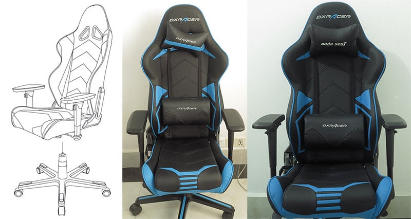 DXRacer chair assembly final step