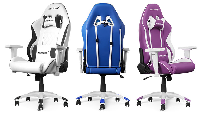 AKRacing California chair colors
