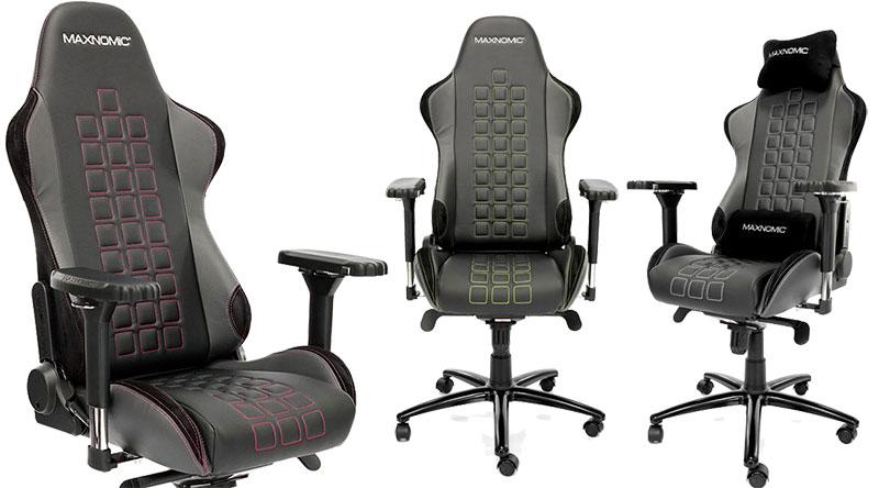 Maxnomic Casual Sport Quadceptor chair