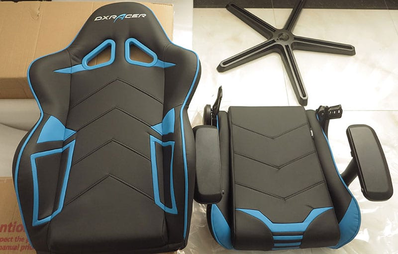 DXRacer gaming chair assembly guide