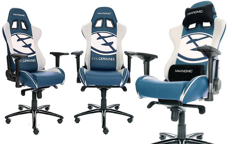 Maxnomic Casual Sport Evil Geniuses chair