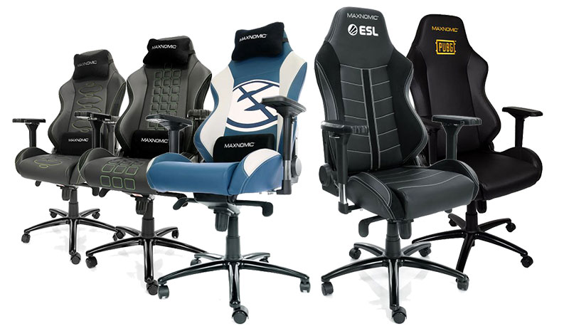 Maxnomic Pro gaming chairs