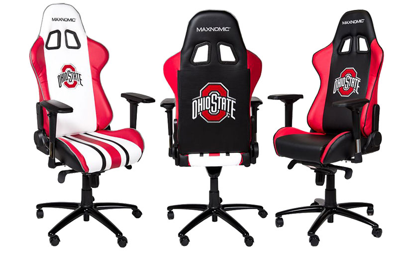 Maxnomic Ohio State small gaming chair
