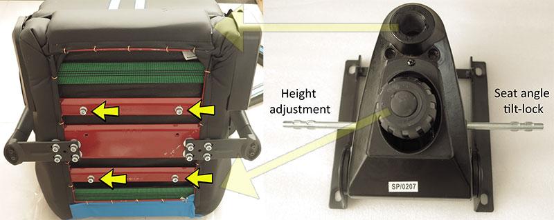 DXRacer base assembly instructions