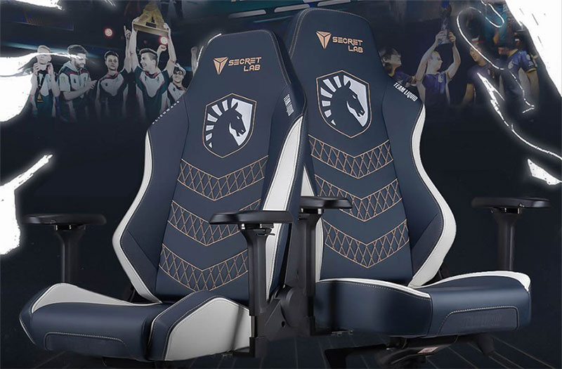Secretlab Team Liquid official esports team chairs