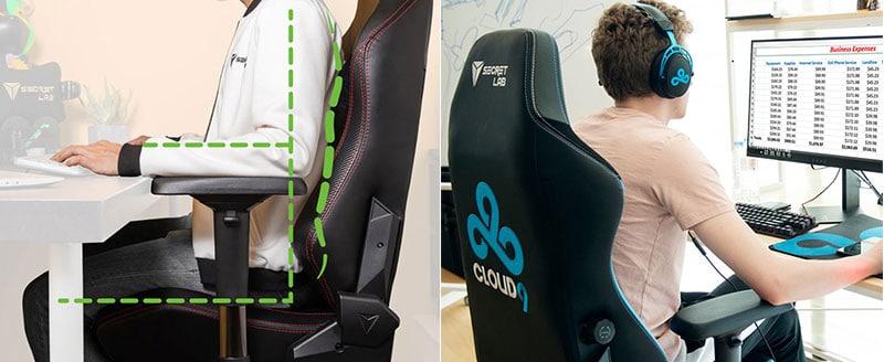 Using the Secretlab Titan as an office chair