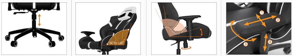Vertagear SL5000 features
