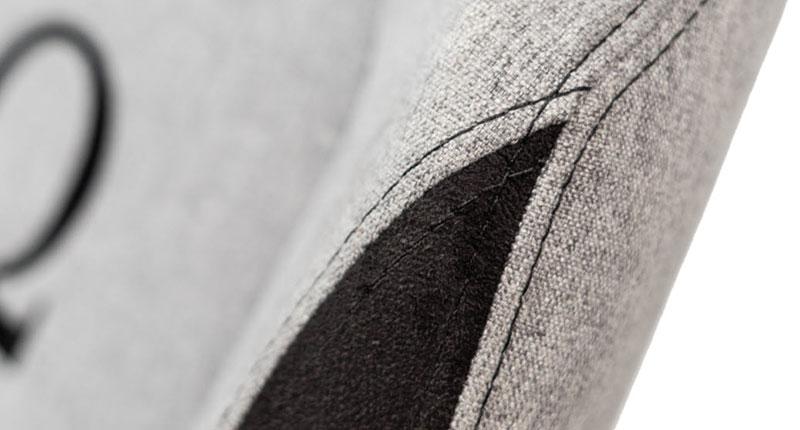 Closeup of Secretlab Softweave chair fabric