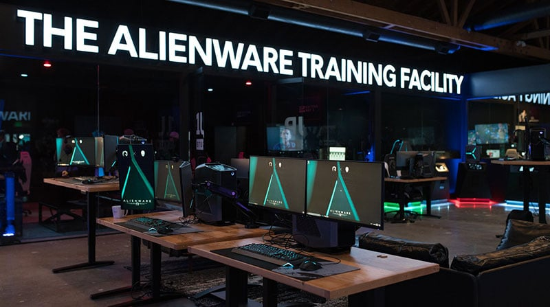 Team Liquid Alienware training facility