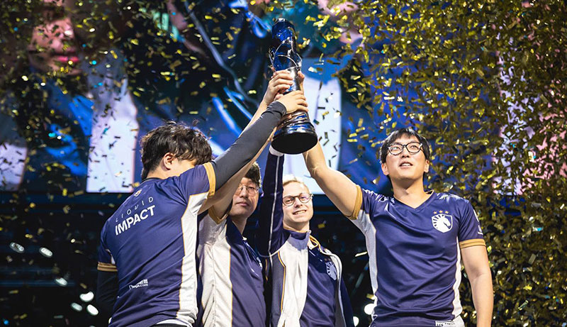 Team Liquid as dominant esports champions