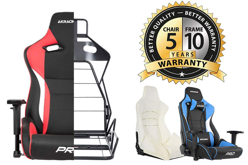 AKRacing Masters Series Pro warranty