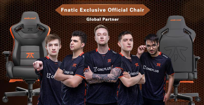 Fnatic official chair partner