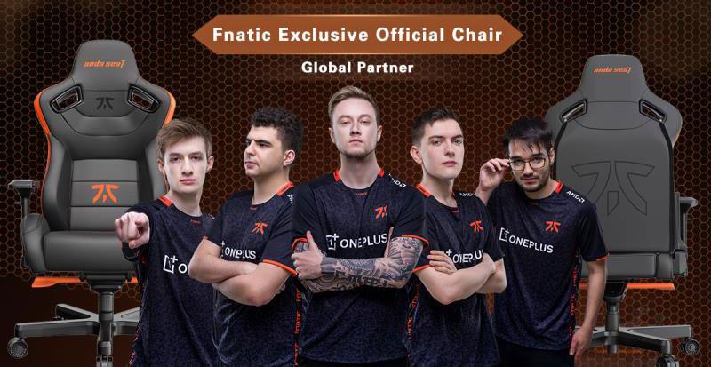Anda Seat Fnatic partnership