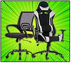 Gaming chairs and office chairs