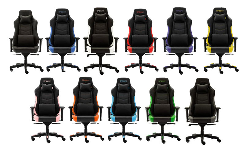 Opseat Grandmaster Series color options