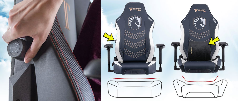 Team Liquid Titan and Omega chair comparison