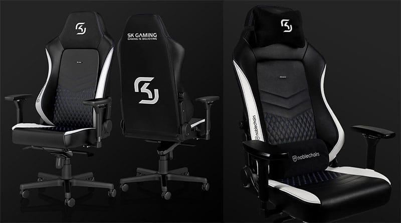Noblechairs SK Gaming special edition esports team chair
