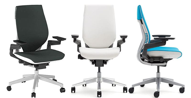 Steelcase Gesture color options.