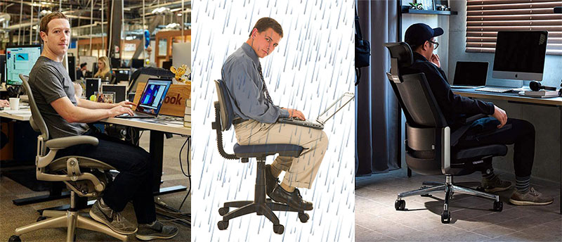Task chairs are good for your back