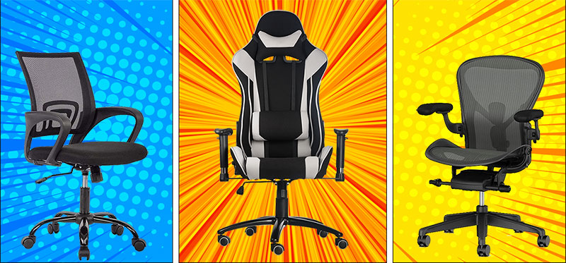 Gaming chair and other computing chairs