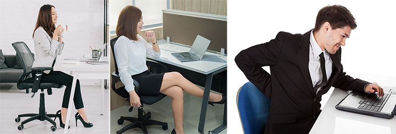 Traditional office chairs for light desk work