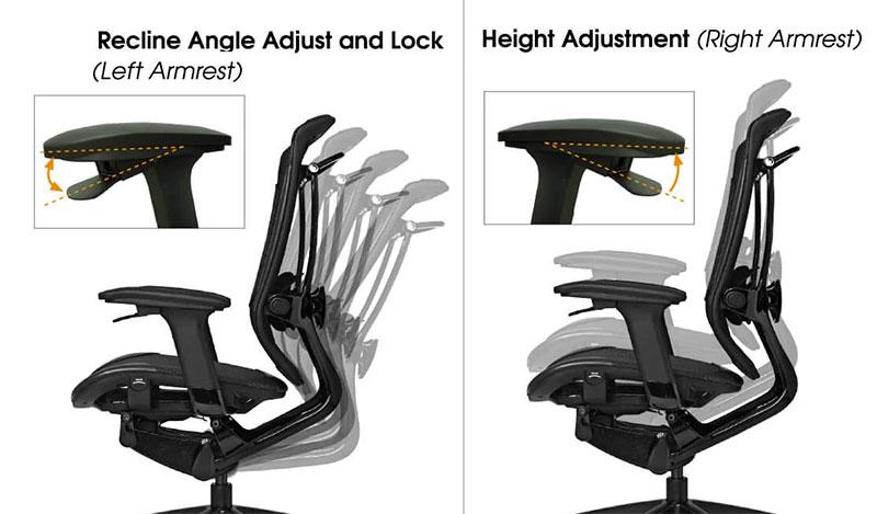 Vertagear Triiger 350 armrest levers