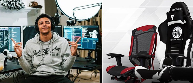 TSM Myth Vertagear gaming chairs