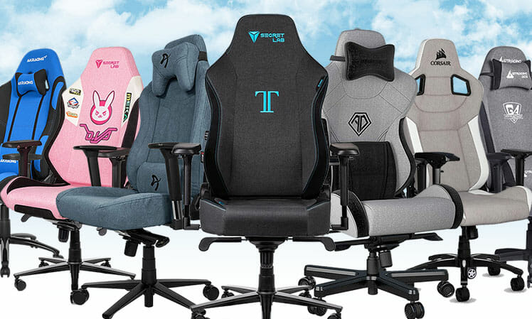Best gaming chair picks with mesh upholstery