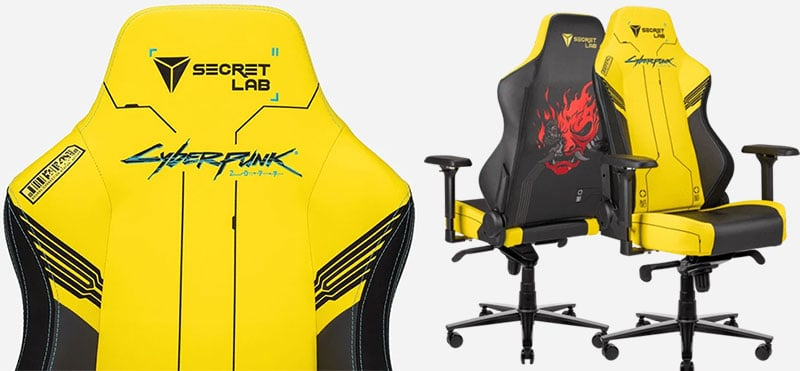 Cyberpunk chairs from Secretlab