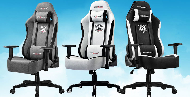 GTRacing GT505 mesh fabric gaming chairs