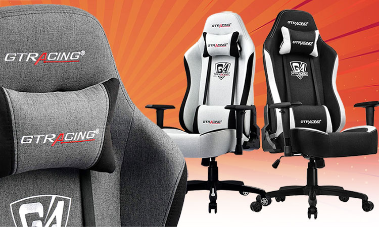 Mesh GTRacing Pro Series chairs