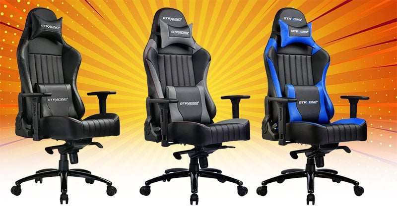 GTRacing Luxury Series GTK002 chairs