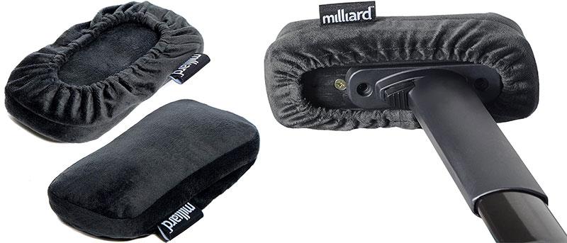 Millard Gaming Chair armrest pads