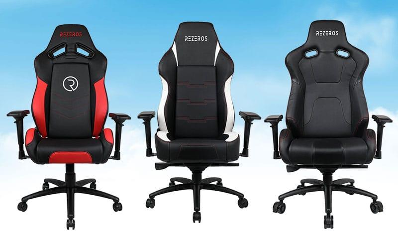 Rezeros gaming chair collection