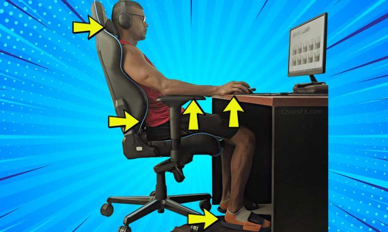 Gaming chair user guide