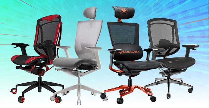 Four affordable ergonomic office chairs