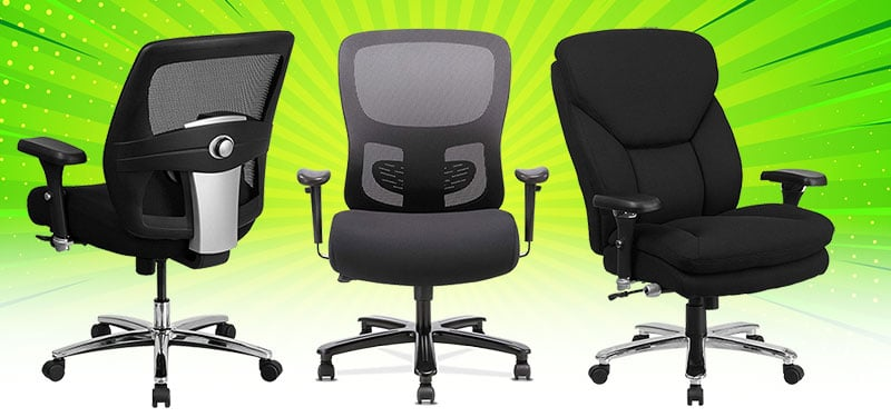 Best 400 pounds big and tall ergonomic chairs