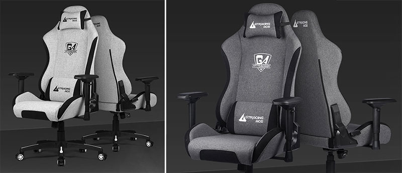 GTRacing Ace mesh fabric gaming chairs