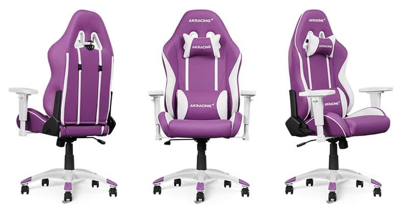 AKRacing California pink gaming chair