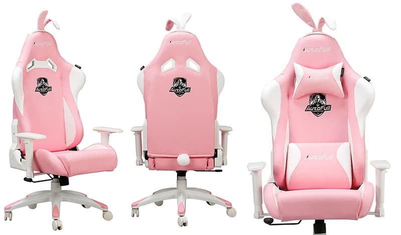 Autofull pink gaming chair