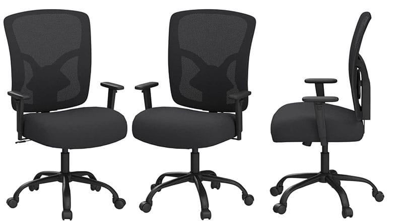 BestOffice 400 pounds ergonomic office chair