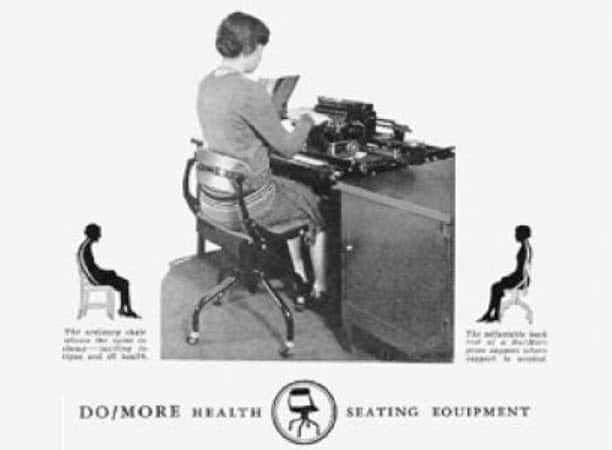 Do/More chair circa 1920