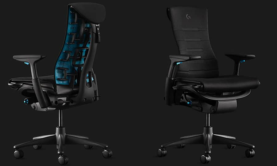 New Herman Miller Embody gaming chair