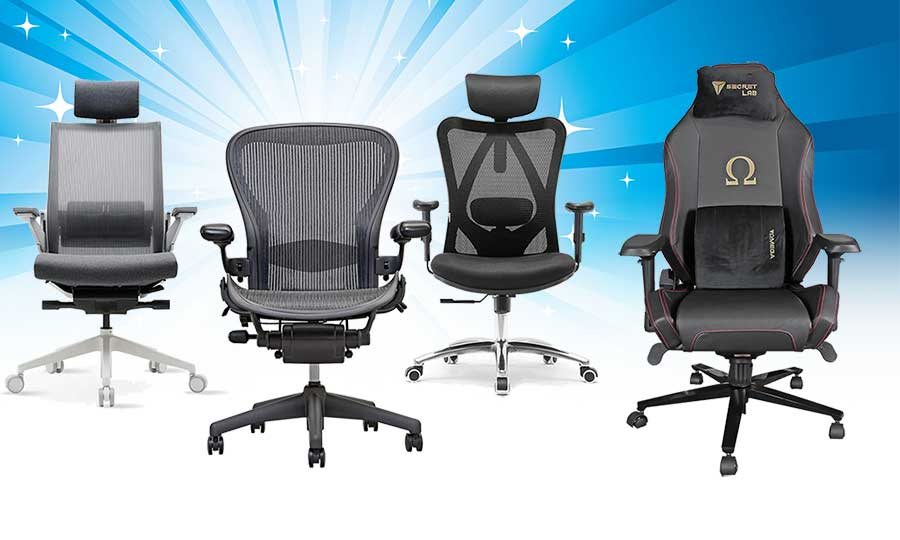 Types of ergonomic office chairs for consumers in 2020