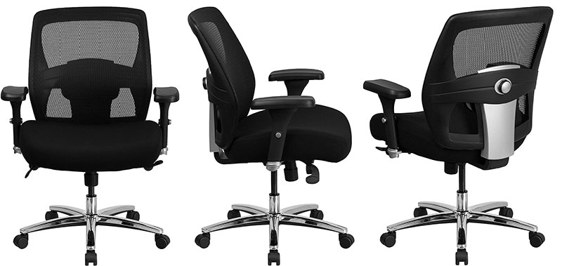 Flash Herculues ergonomic office chair 400 pounds