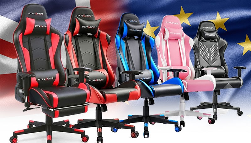 GTPlayer gaming chairs for Europeans