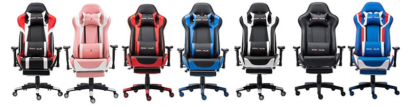 Nokaxus 6008 footrest gaming chairs